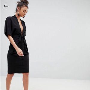 NWT ASOS Plunge Dress - 10
